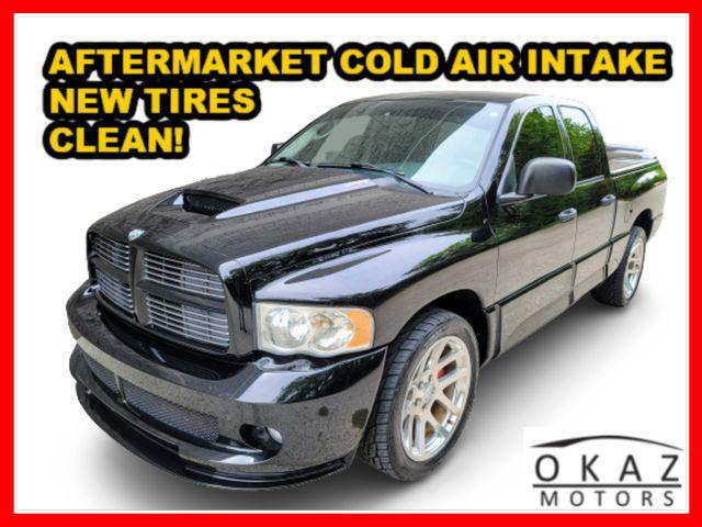2005 Dodge Ram SRT-10 SRT-10 Pickup 4D 6 1/4 ft Quad Cab  - FP224  - Okaz Motors