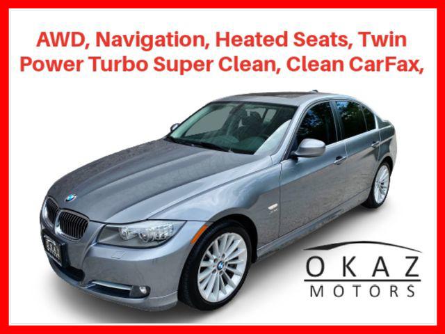 2011 BMW 3 Series 335i xDrive Sedan 4D AWD  - IA1255-IL  - Okaz Motors