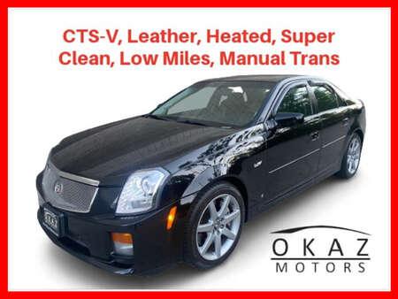 2007 Cadillac CTS-V CTS-V Sedan 4D for Sale  - RIA1217VA  - Okaz Motors