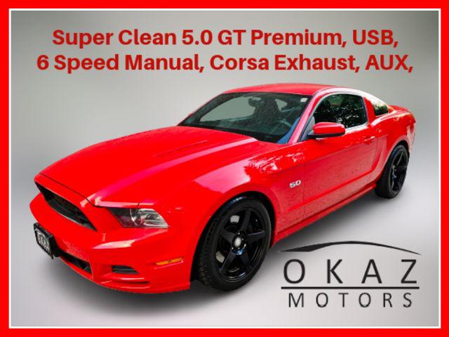 2013 Ford Mustang GT Premium Coupe 2D  - IA1287-CA  - Okaz Motors