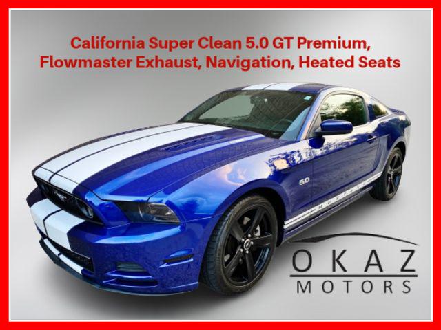 2014 Ford Mustang GT Premium Coupe 2D  - IA1274-CA  - Okaz Motors