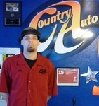 Trent Hudson Working as Auto Technician at Country Auto
