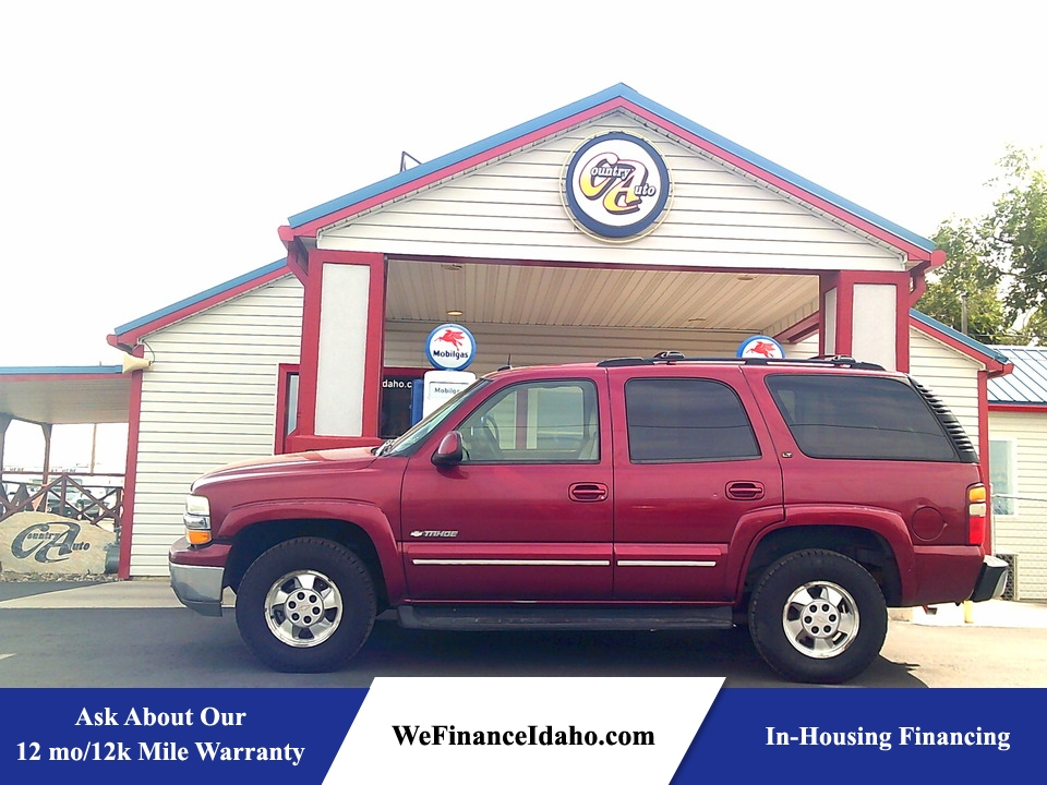 2003 Chevrolet Tahoe LT 4WD  - 9171  - Country Auto