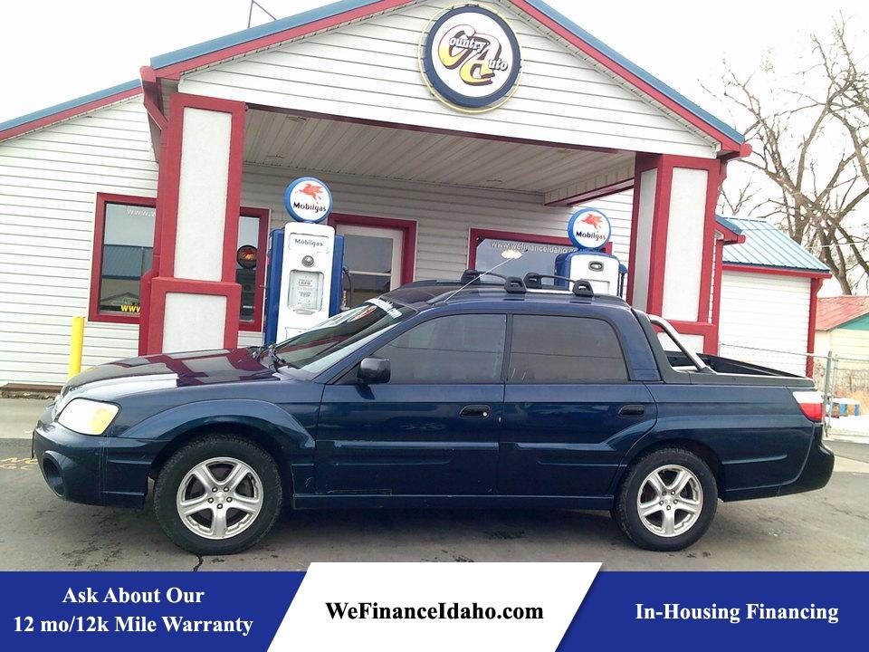 2003 Subaru Baja Sport  - 8342R  - Country Auto