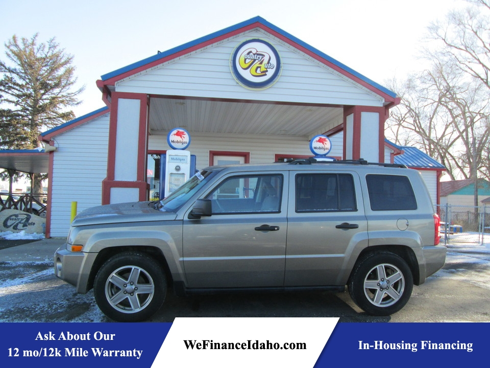 2007 Jeep Patriot Sport 4WD  - 8468  - Country Auto