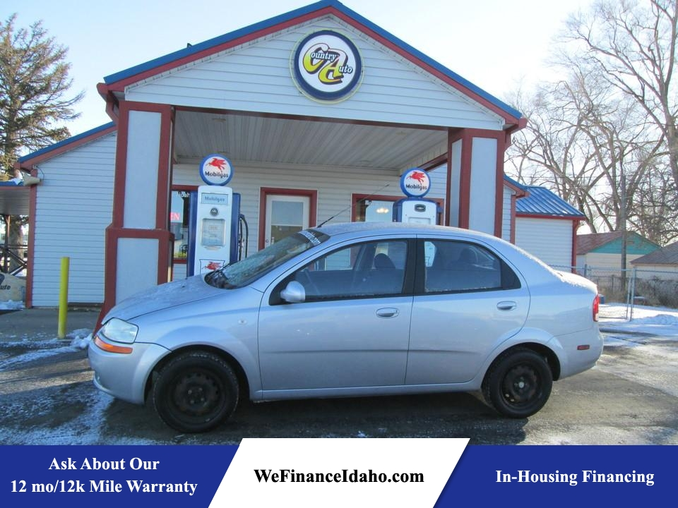 2006 Chevrolet Aveo SVM  - 8470  - Country Auto