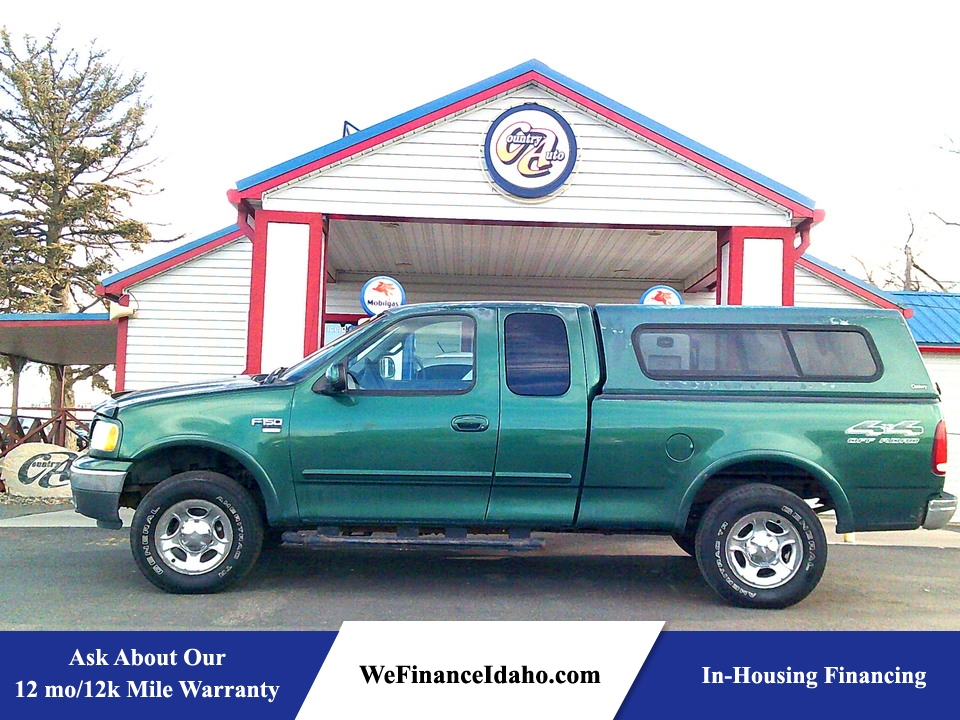 1999 Ford F-150 4WD SuperCab  - 8818  - Country Auto