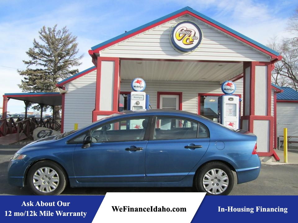 2010 Honda Civic DX-VP  - 8348R  - Country Auto