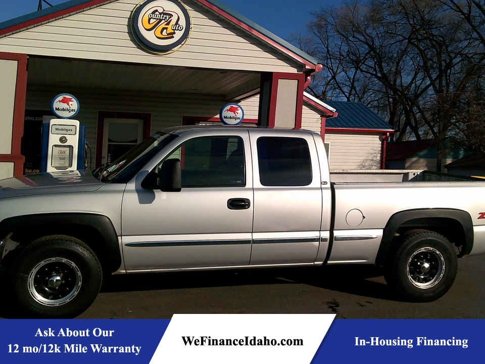 2002 GMC Sierra 1500 SLE 4WD Extended Cab  - 8505  - Country Auto