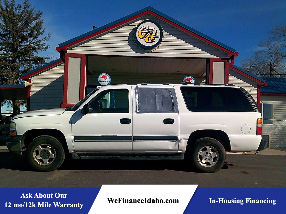 2003 Chevrolet Suburban LS 4WD  - 8896  - Country Auto