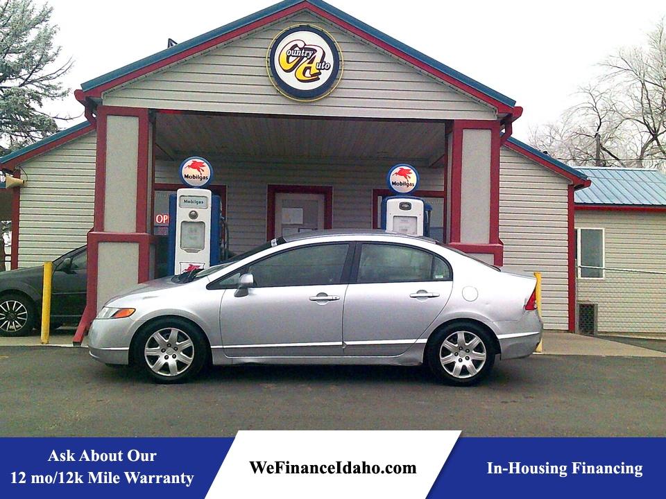 2007 Honda Civic LX  - 8803  - Country Auto