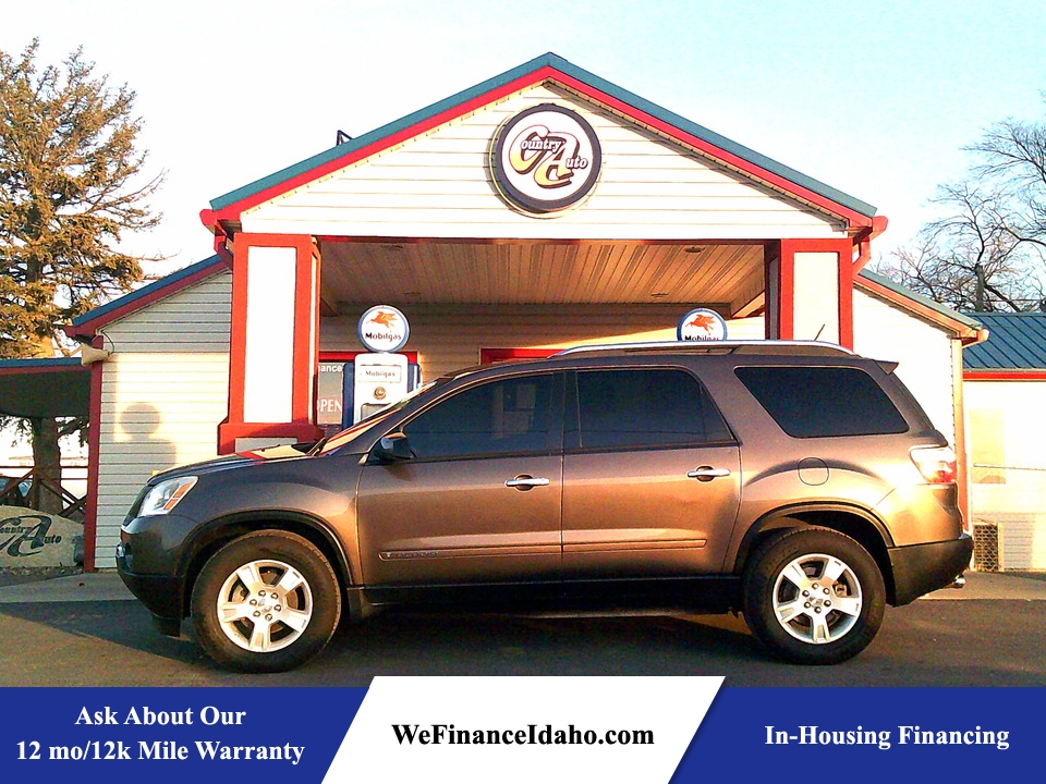 2007 GMC Acadia SLE AWD  - 8829  - Country Auto