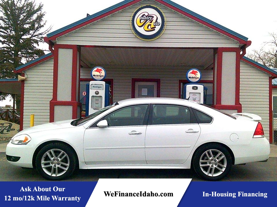 2012 Chevrolet Impala LTZ  - 8832  - Country Auto