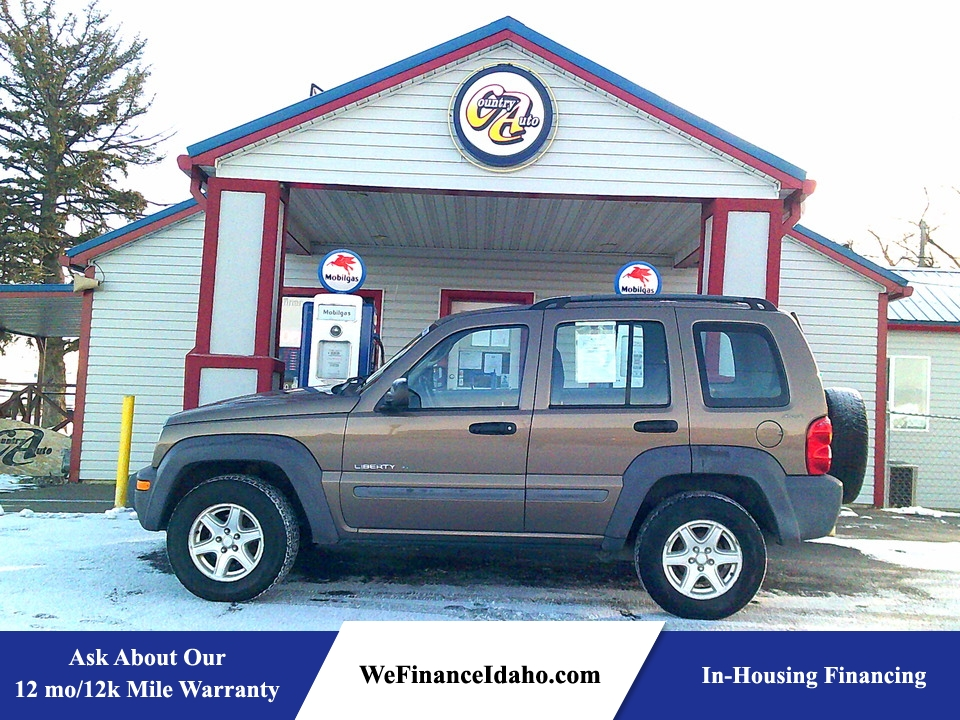2002 Jeep Liberty Sport 4WD  - 8837  - Country Auto