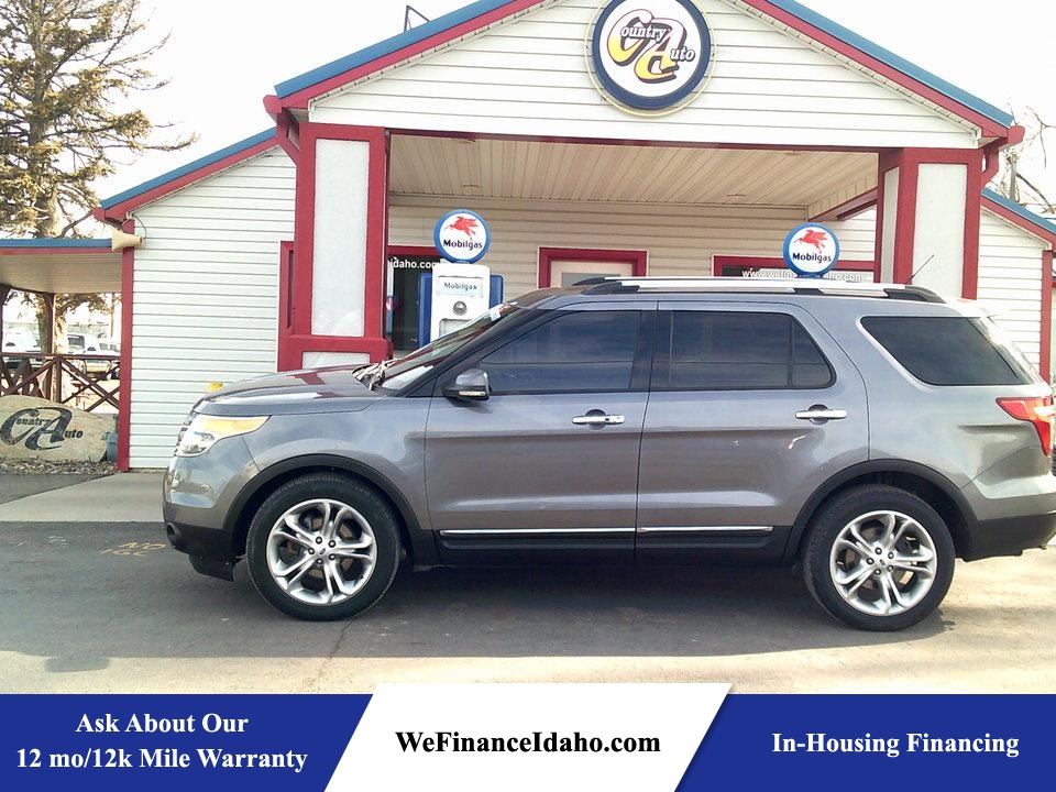 2013 Ford Explorer Limited 4WD  - 8515  - Country Auto