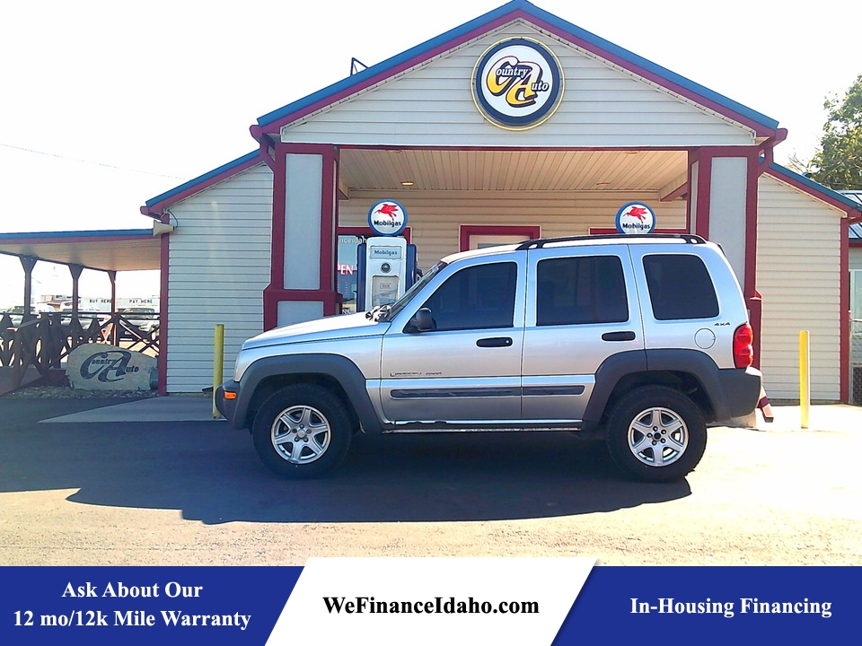 2002 Jeep Liberty Sport 4WD  - 9179B  - Country Auto