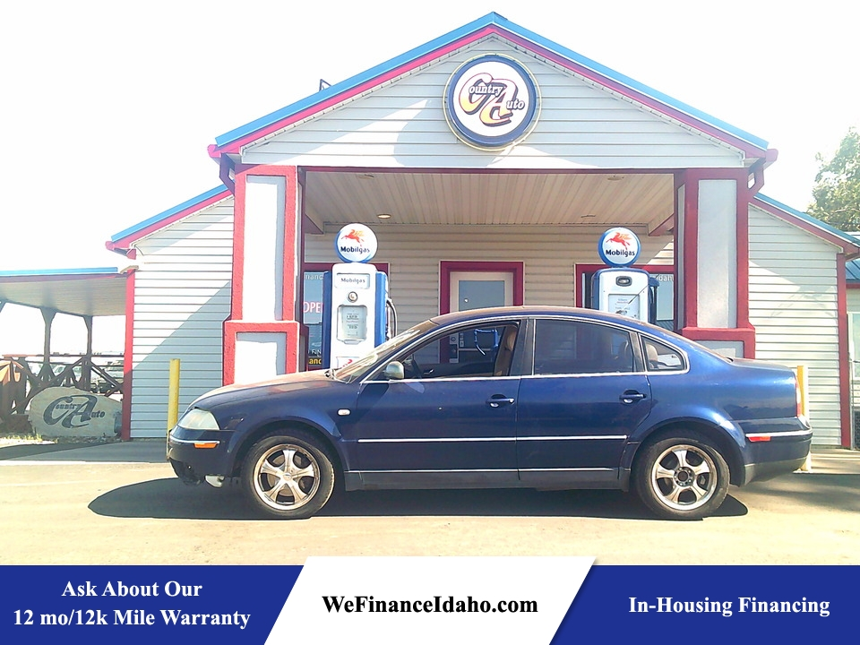 2001 Volkswagen Passat GLX  - 9161  - Country Auto