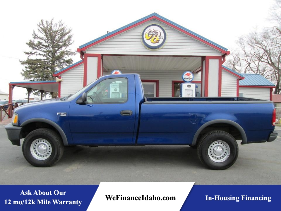 1998 Ford F-150 4WD Regular Cab  - 8374  - Country Auto