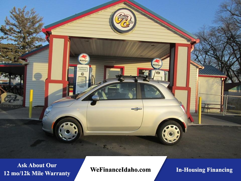 2013 Fiat 500 Pop  - 8400  - Country Auto