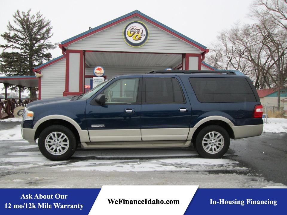 2008 Ford Expedition EL 4WD  - 8398  - Country Auto