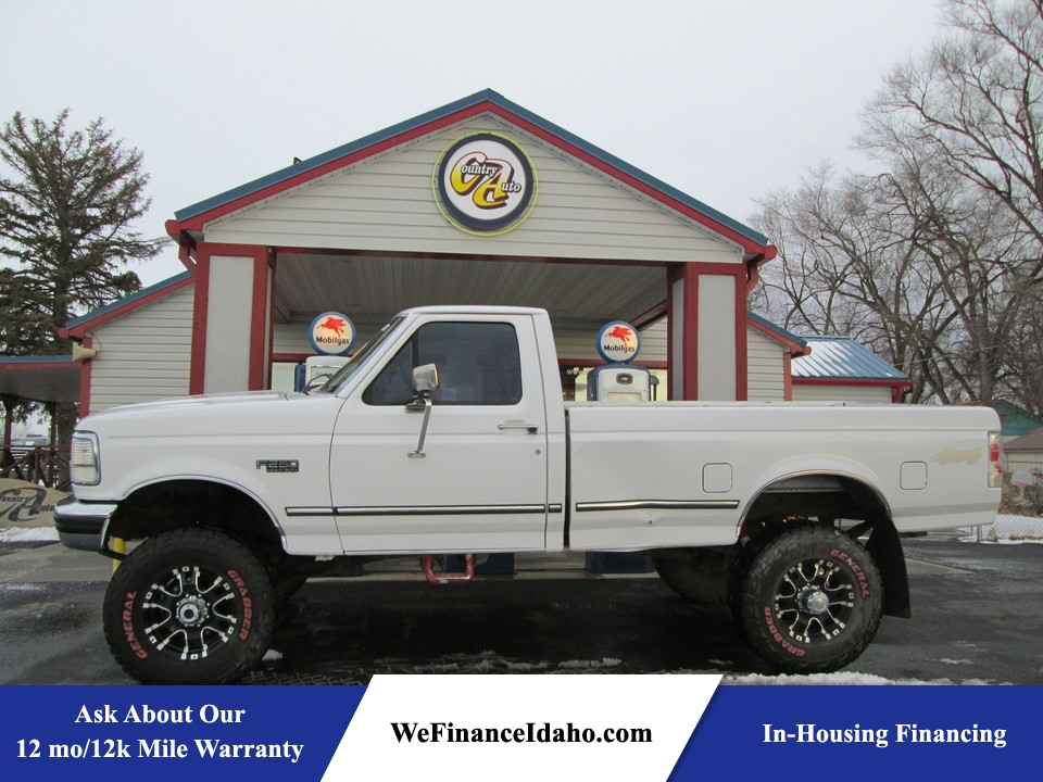 1997 Ford F-250 HD 4WD Regular Cab  - 8353  - Country Auto