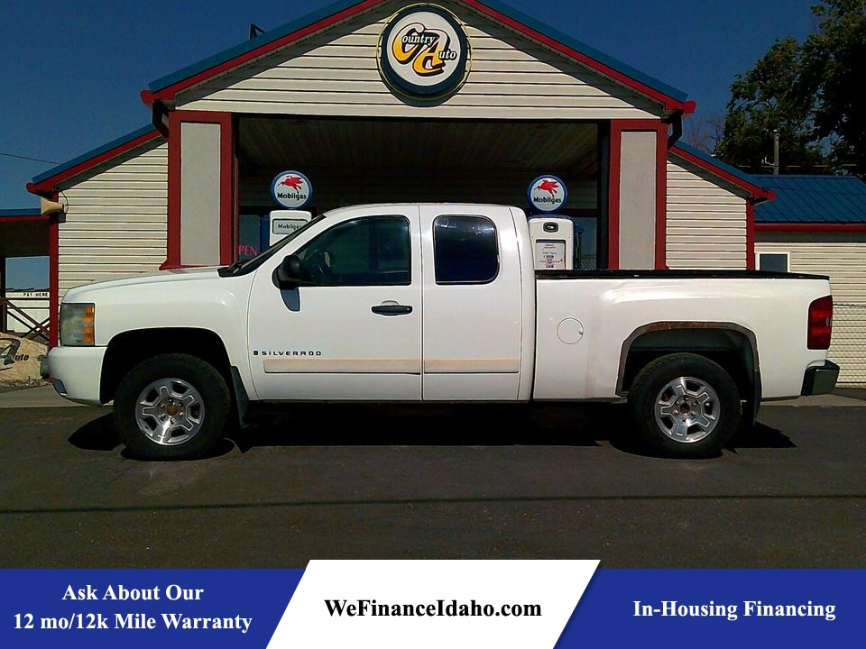 2008 Chevrolet Silverado 1500 LT w/1LT 4WD Extended Cab  - 9034  - Country Auto