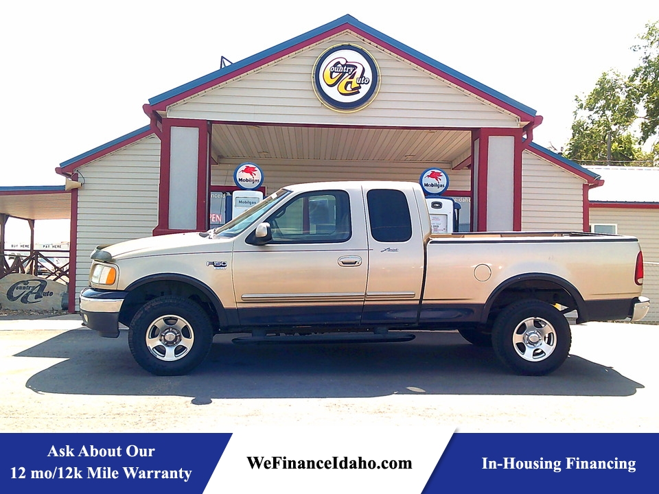 1999 Ford F-150 4WD SuperCab  - 9051  - Country Auto