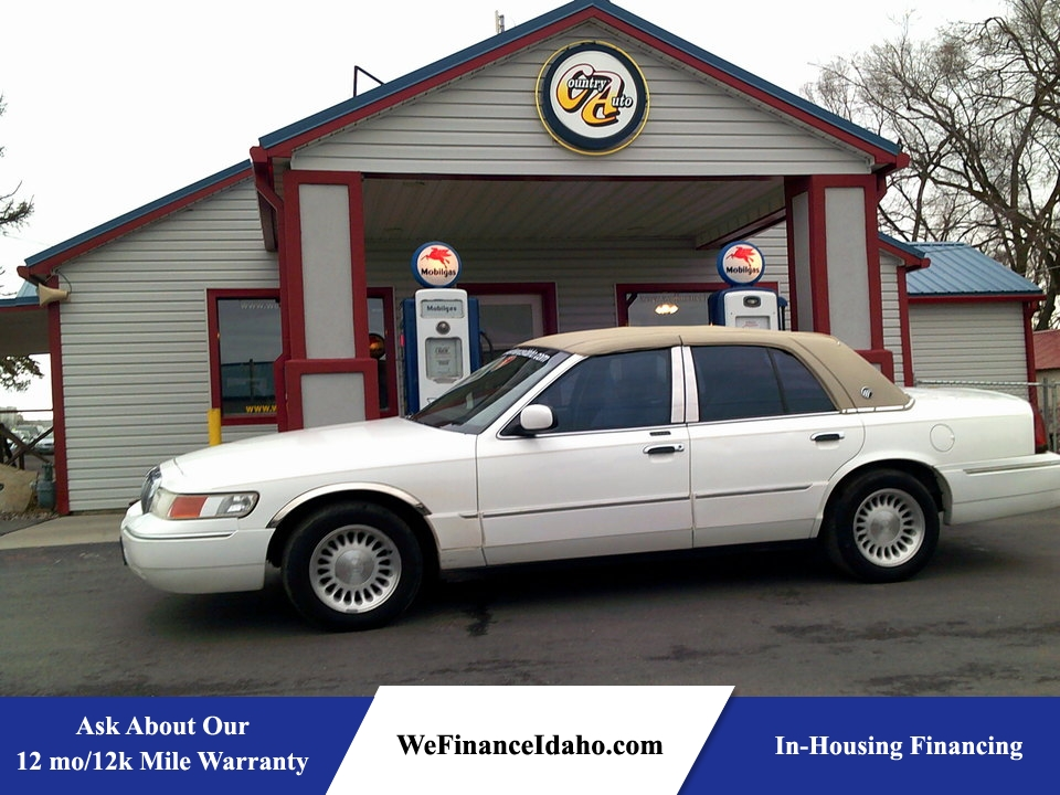 2000 Mercury Grand Marquis LS  - 8432  - Country Auto