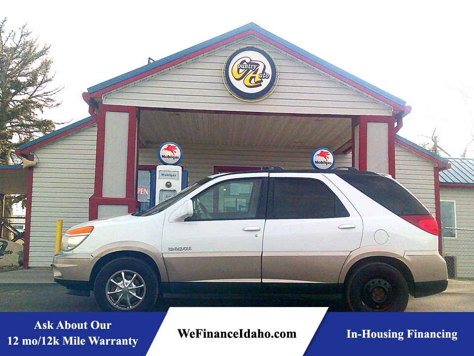 2003 Buick Rendezvous CXL AWD  - 8895  - Country Auto