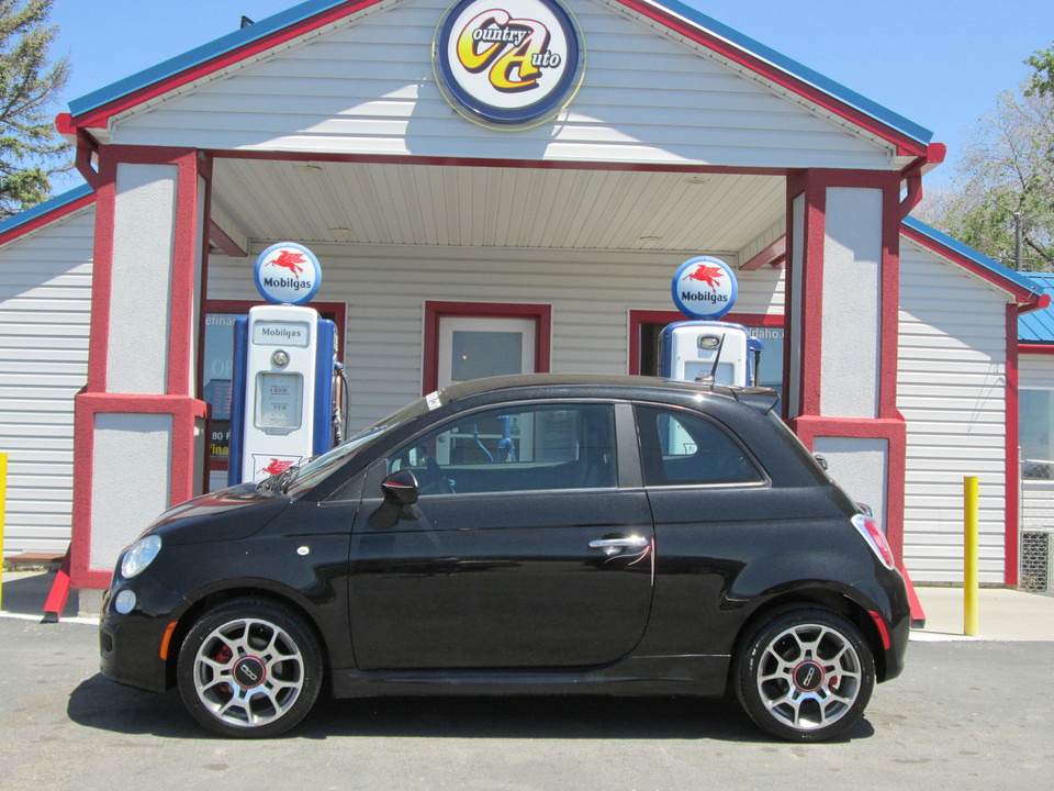 2013 Fiat 500  - Country Auto