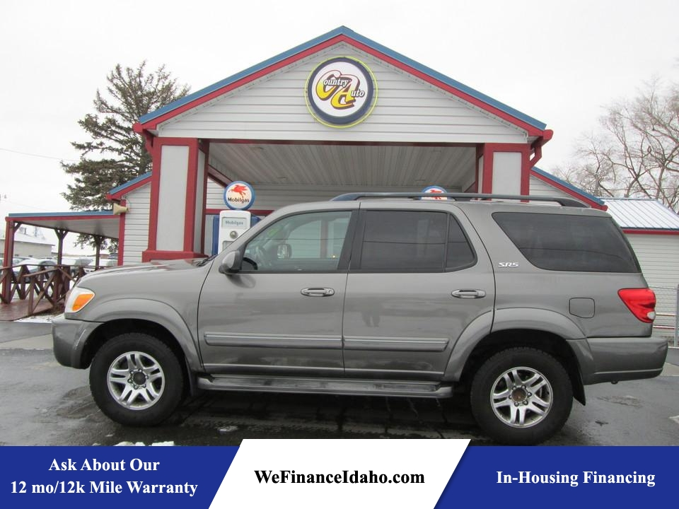 2005 Toyota Sequoia SR5 4WD  - 8439R  - Country Auto
