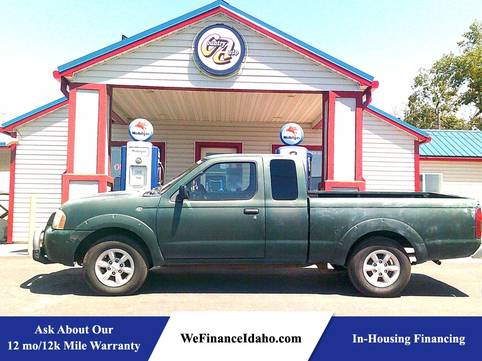 2002 Nissan Frontier XE  - 8922R  - Country Auto