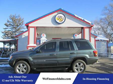 2002 Jeep Grand Cherokee Overland 4WD for Sale  - 8445  - Country Auto