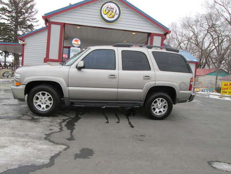 2002 Chevrolet Tahoe Z71 4WD for Sale  - 8133R  - Country Auto