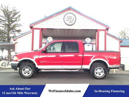 2001 Ford F-150 XLT 4WD Crew Cab for Sale  - 8597R  - Country Auto