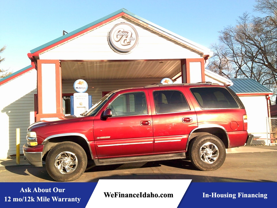 2002 Chevrolet Tahoe LT 4WD  - 8543  - Country Auto