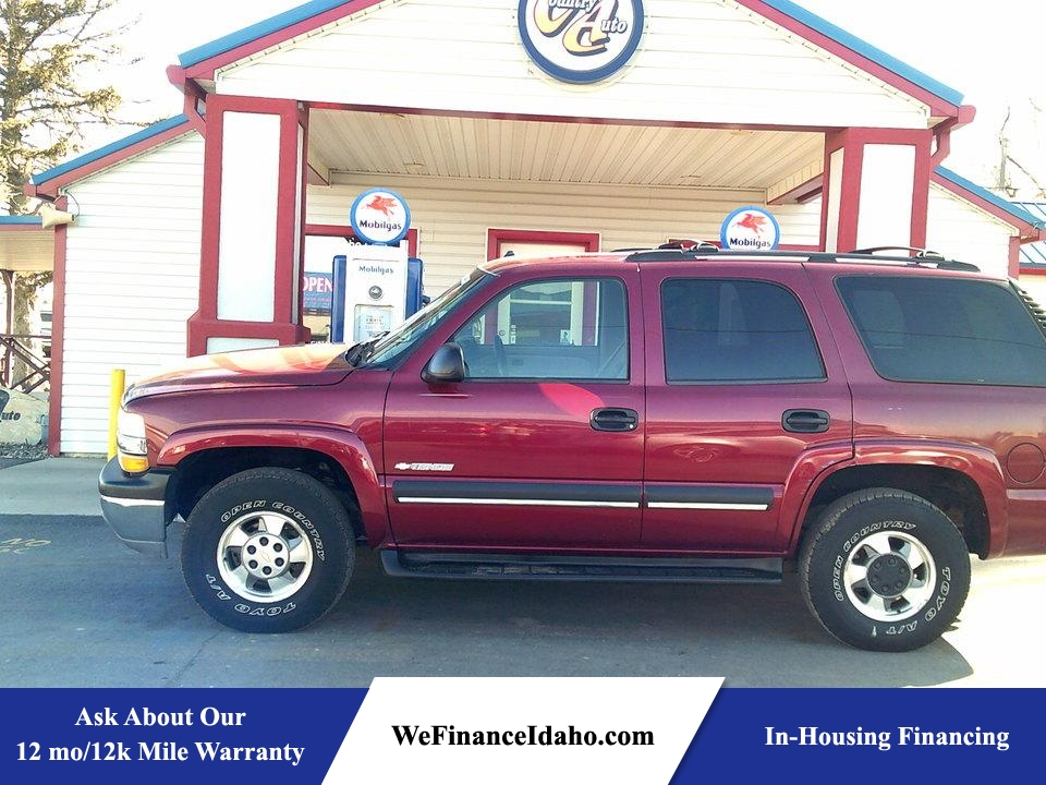 2003 Chevrolet Tahoe LS 4WD  - 8444  - Country Auto