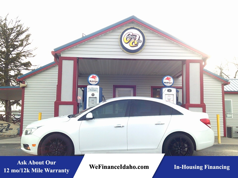 2012 Chevrolet Cruze LTZ  - 8558  - Country Auto