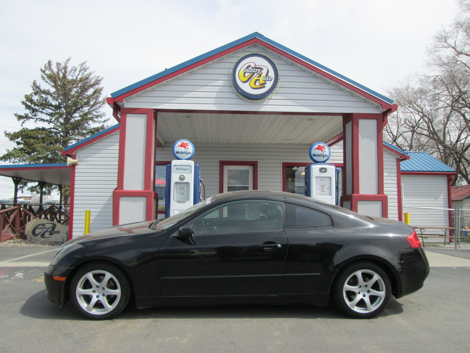2003 Infiniti G35 Coupe  - Country Auto