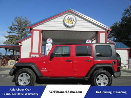 2008 Jeep Wrangler Unlimited X 4WD for Sale  - 8249  - Country Auto