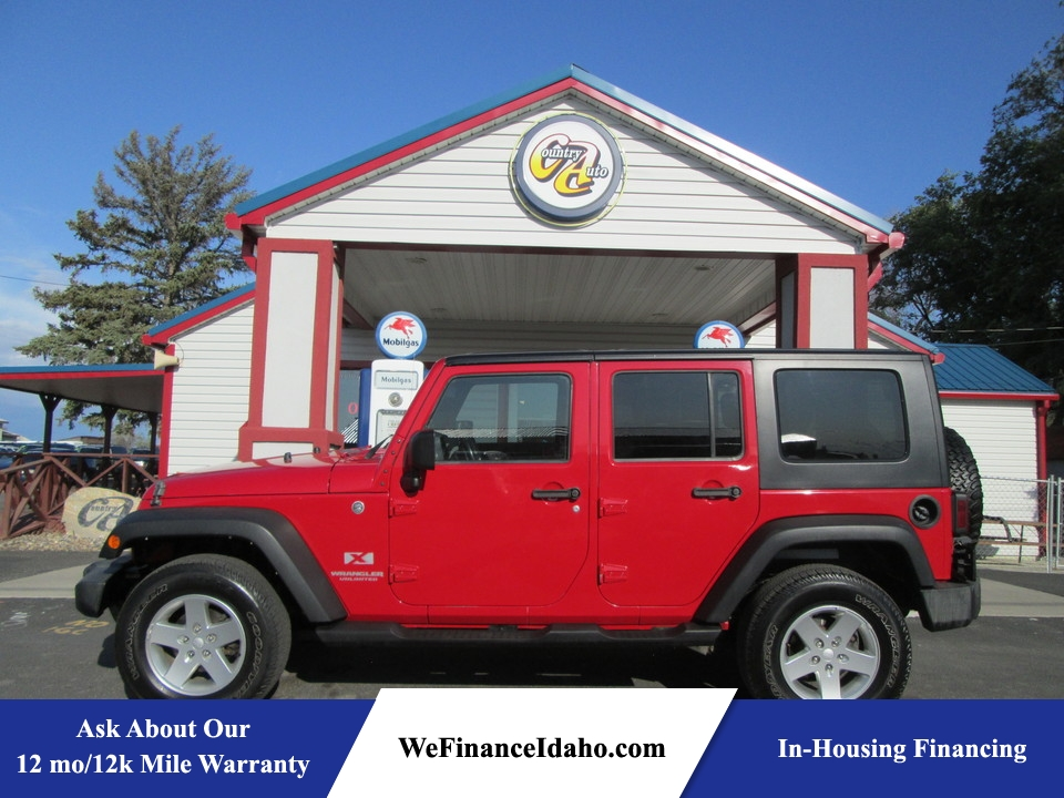 2008 Jeep Wrangler Unlimited X 4WD  - 8249  - Country Auto