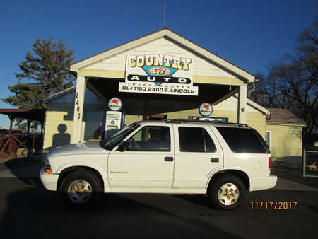 2000 Chevrolet Blazer TrailBlazer 4WD for Sale  - 7644R  - Country Auto