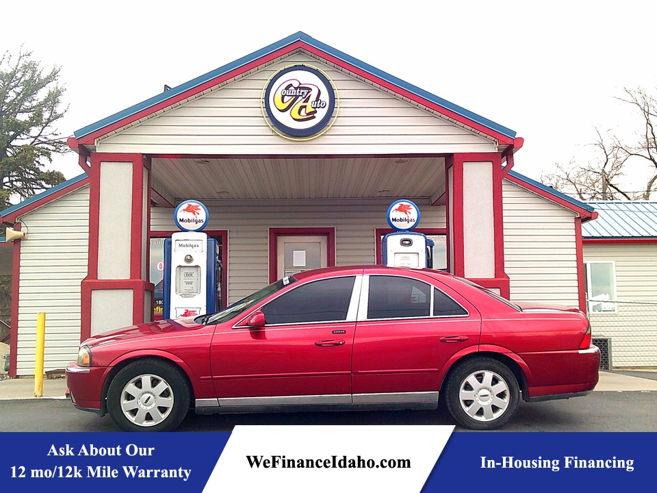 2004 Lincoln LS Pkg  - 8782  - Country Auto