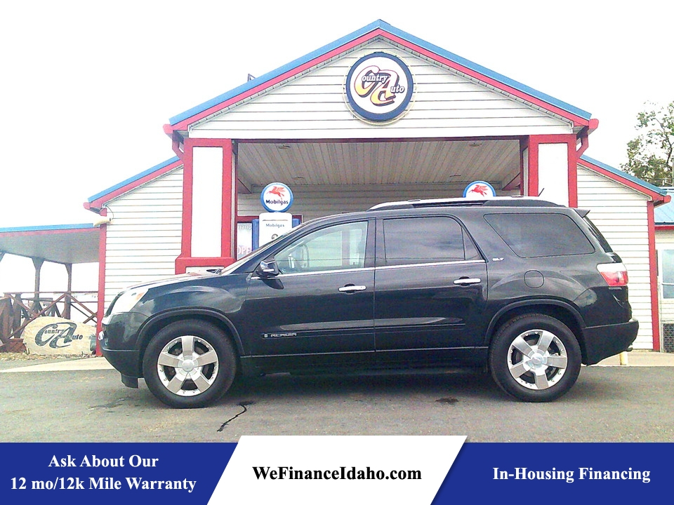 2008 GMC Acadia SLT2 AWD  - 9007  - Country Auto