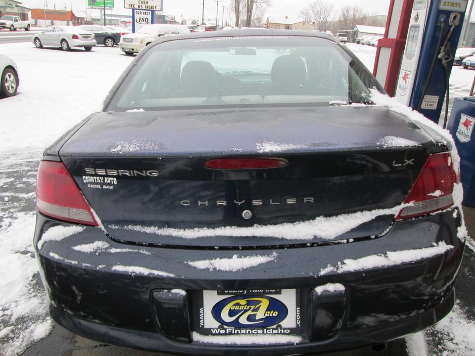 2002 Chrysler Sebring  - Country Auto
