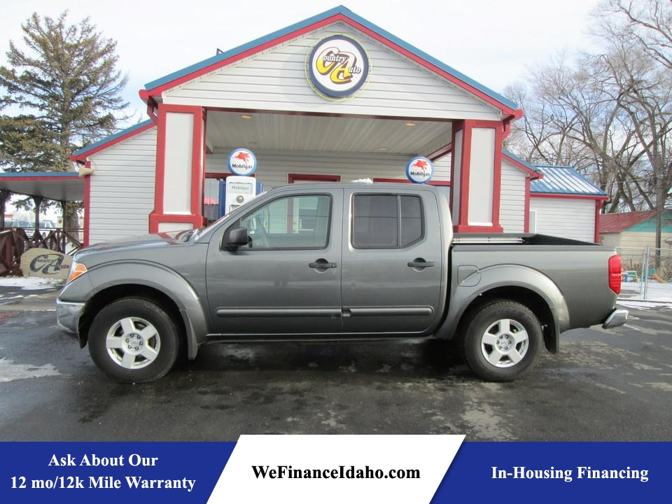 2005 Nissan Frontier 4WD SE Crew Cab  - 7867  - Country Auto