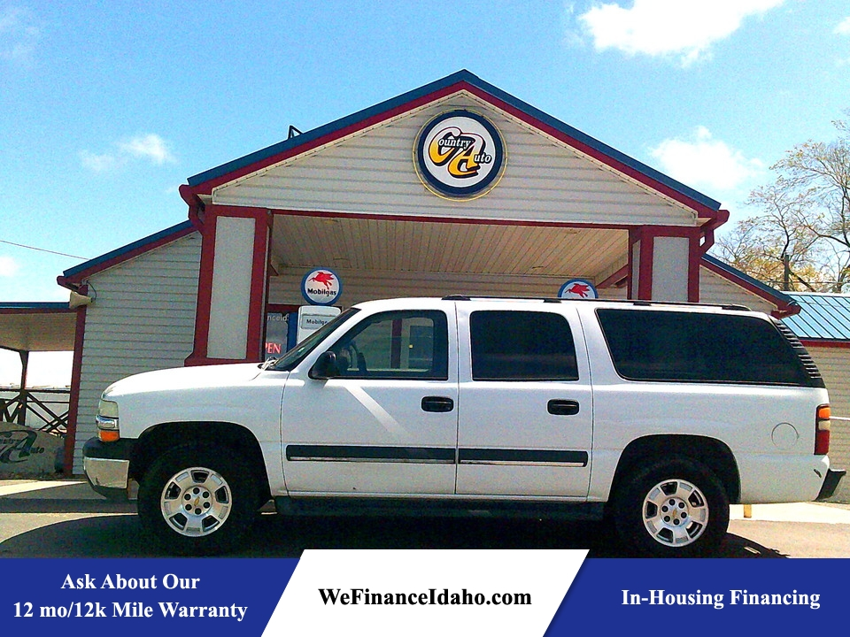 2003 Chevrolet Suburban LS 4WD  - 8917  - Country Auto