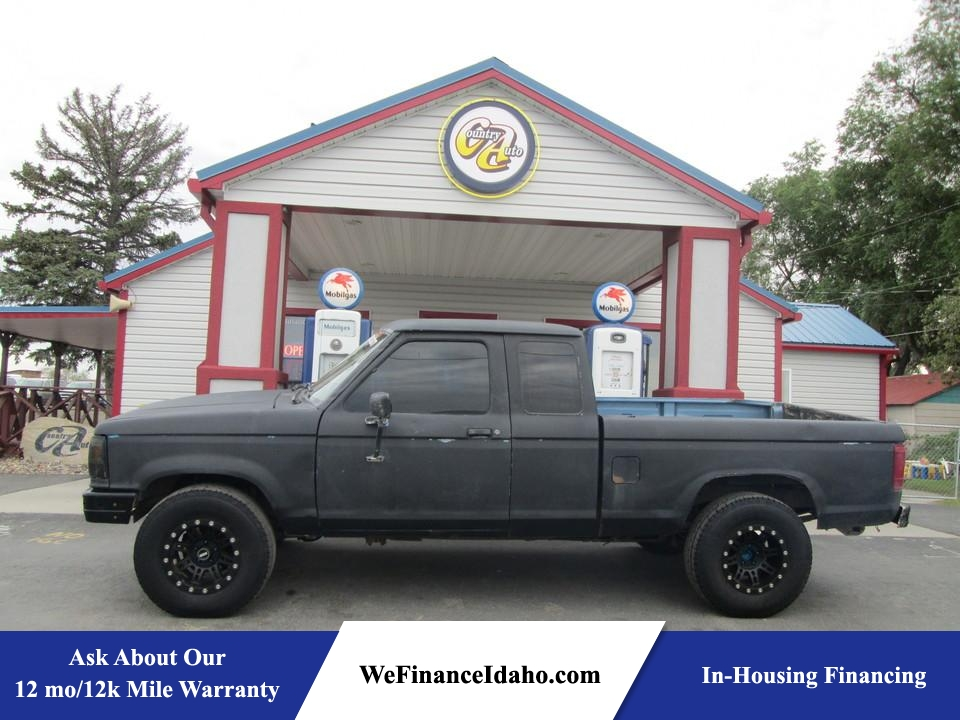 1990 Ford Ranger 4WD SuperCab  - 8222  - Country Auto