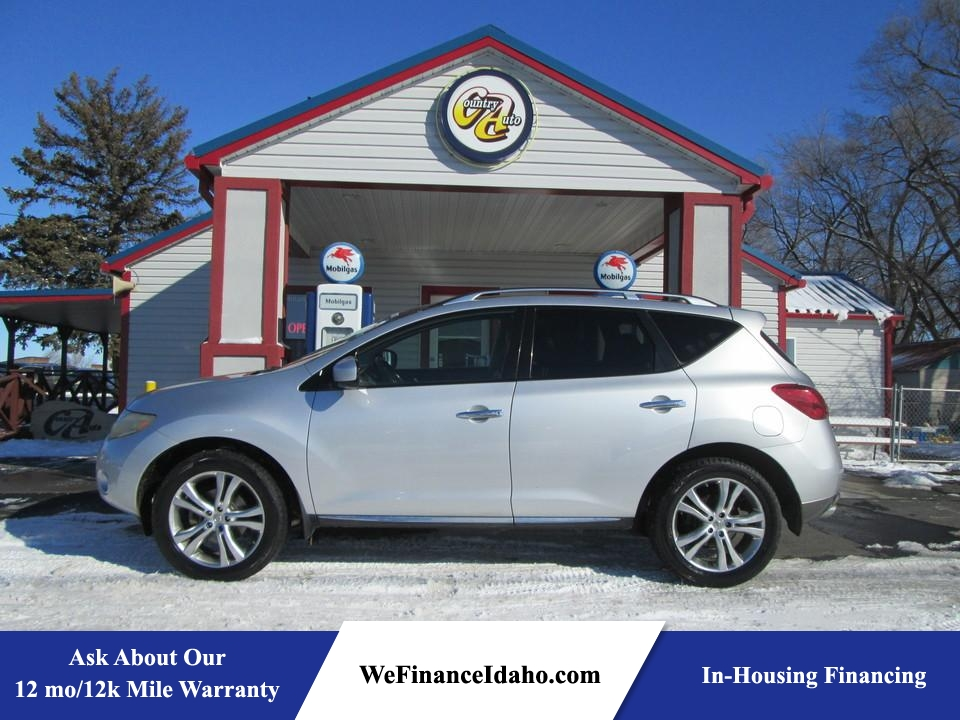 2009 Nissan Murano LE AWD  - 8464R  - Country Auto