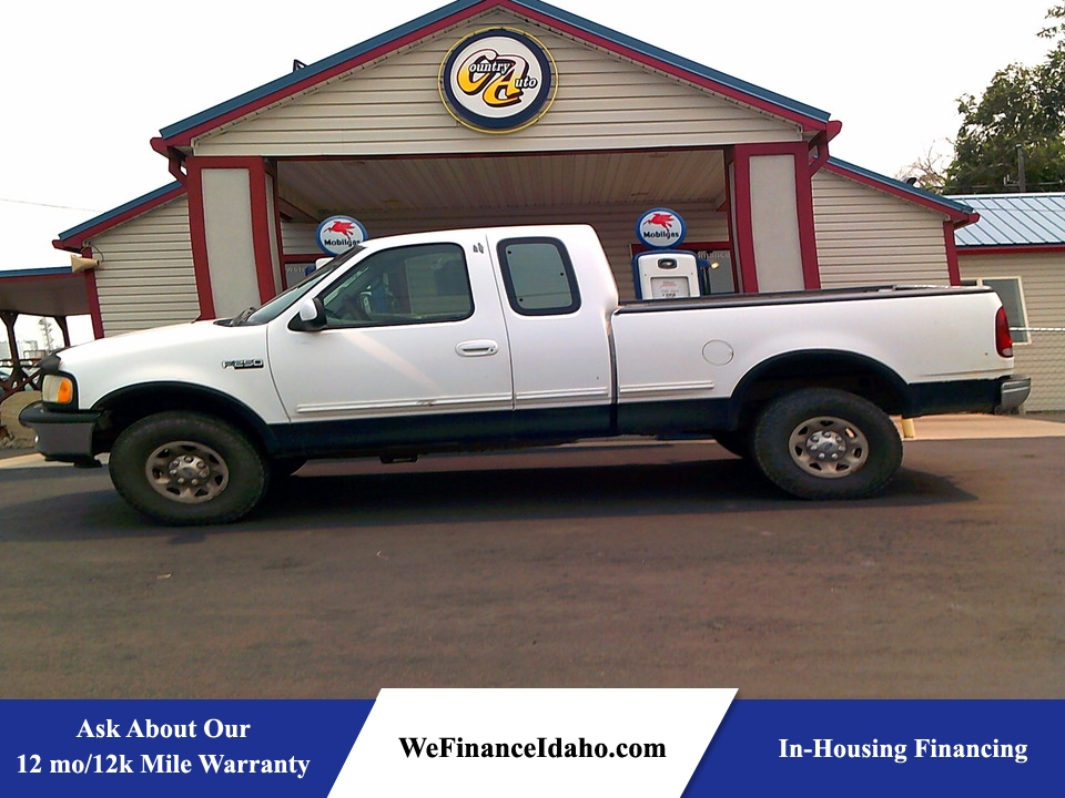1997 Ford F-250 4WD SuperCab  - 8976  - Country Auto